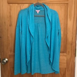 Lilly Pulitzer Large teal sweater